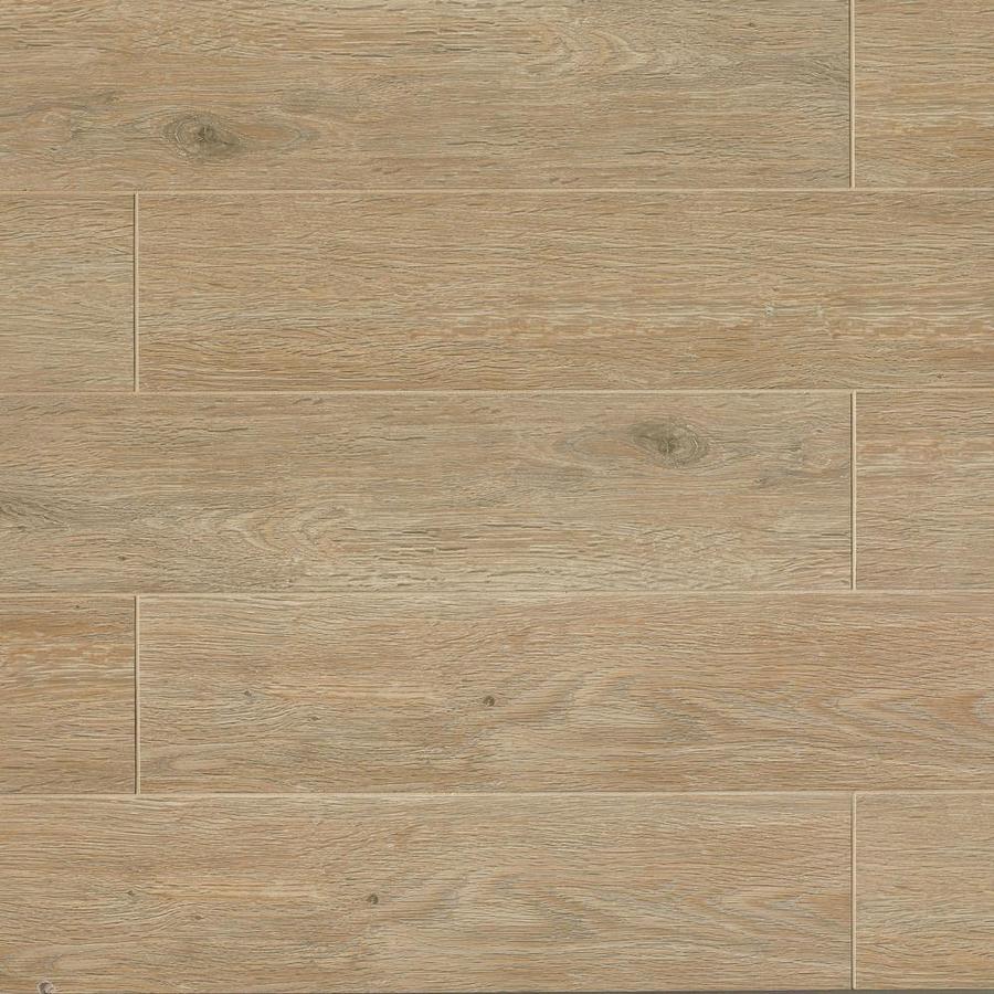 x 48 in matte porcelain wood look floor