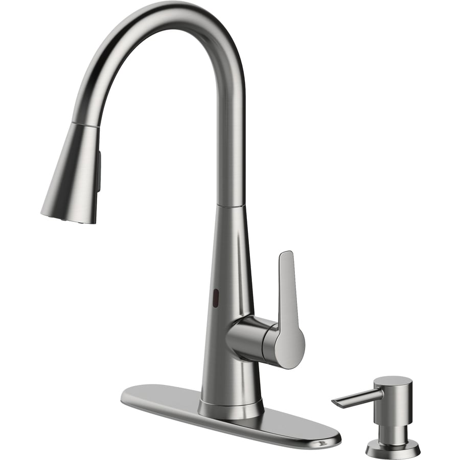 touchless kitchen faucets water