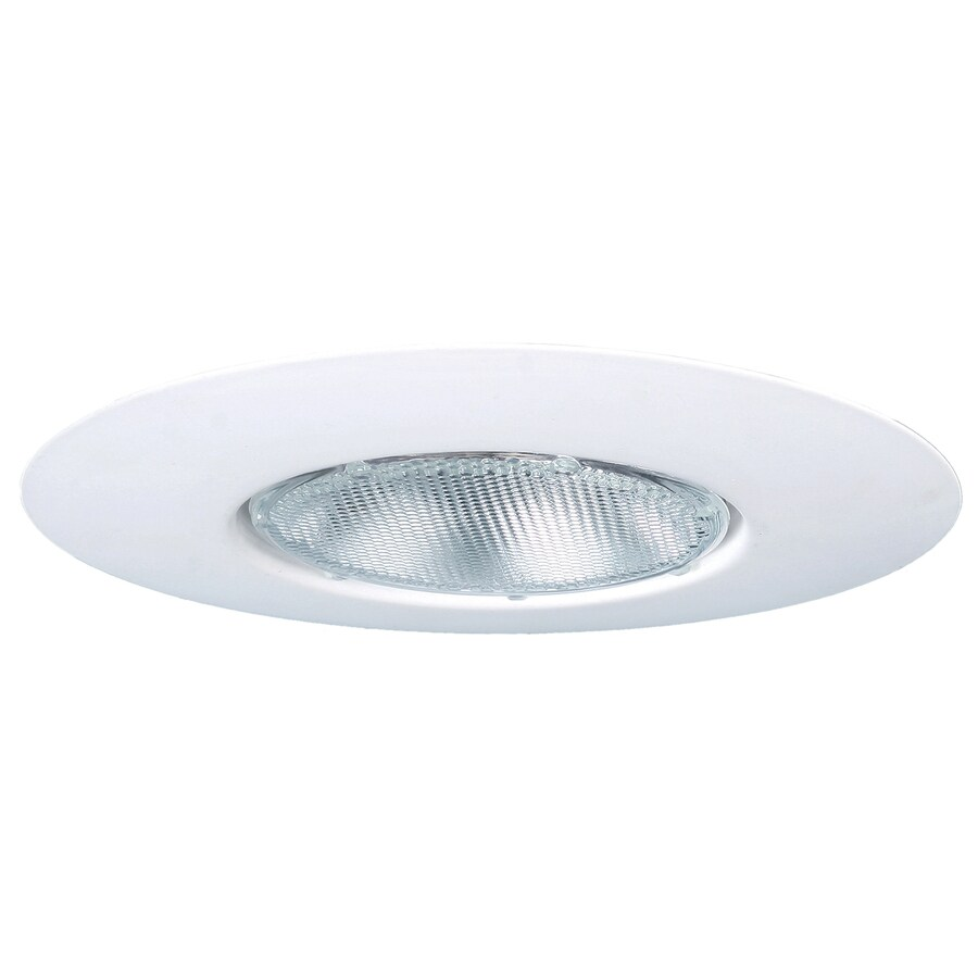 utilitech 6 in white open recessed light trim