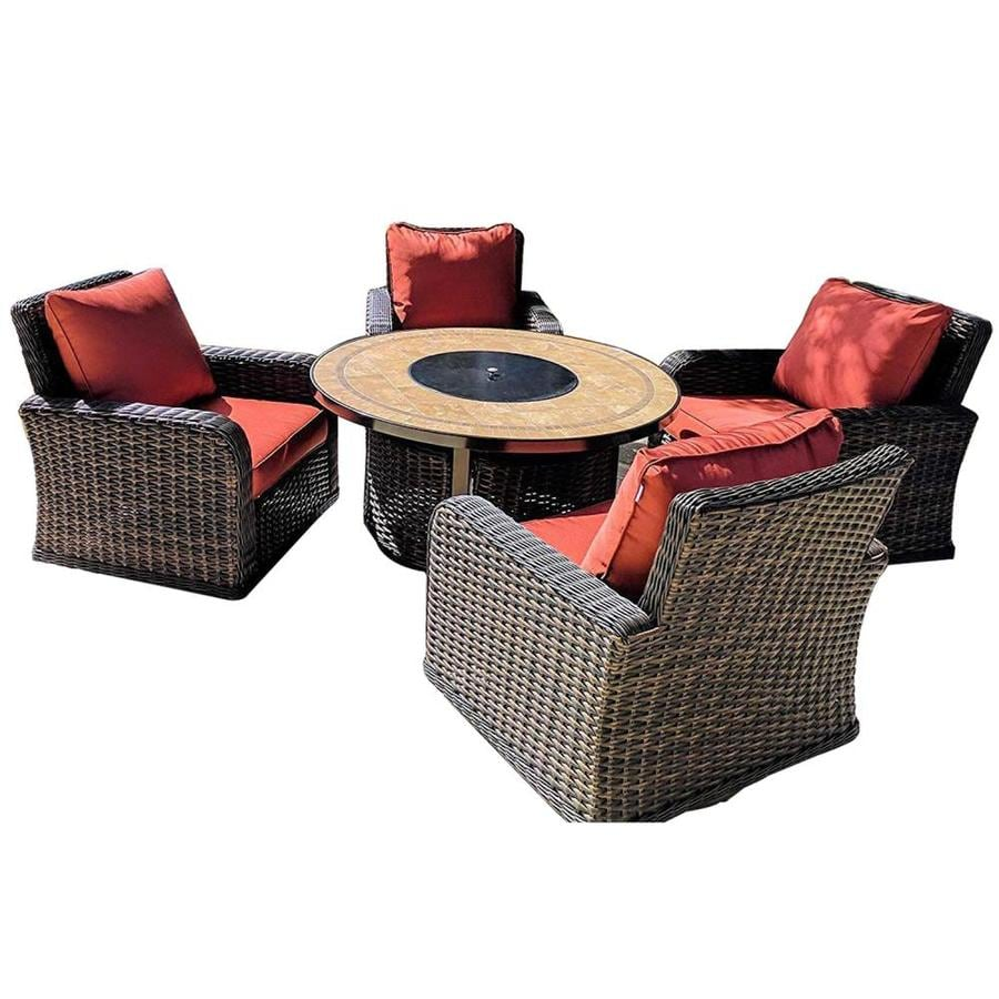 cushions in the patio conversation sets
