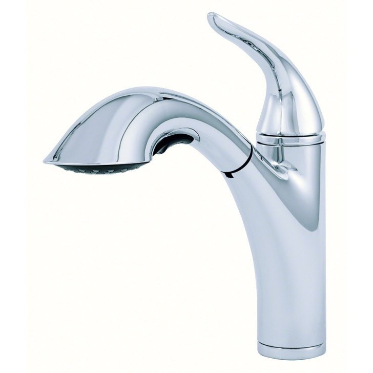 Shop Danze Antioch Chrome Handle Pull Out Kitchen Faucet
