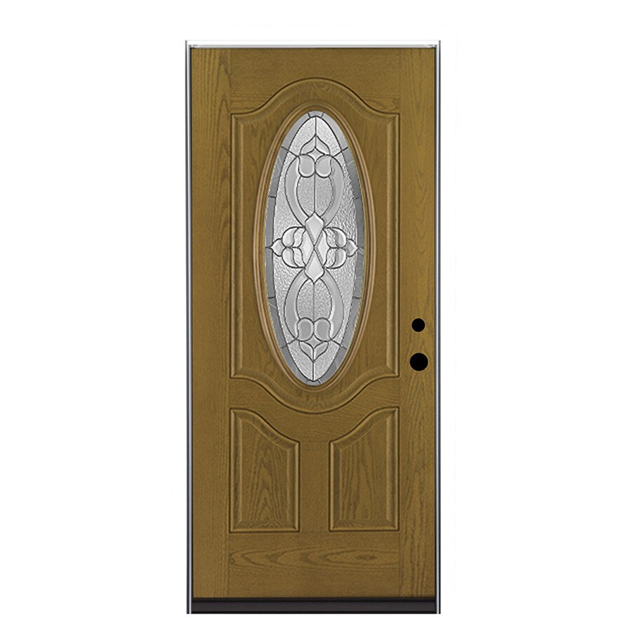 Therma-Tru Benchmark Doors Willowbrook Right-Hand Outswing Medium ...