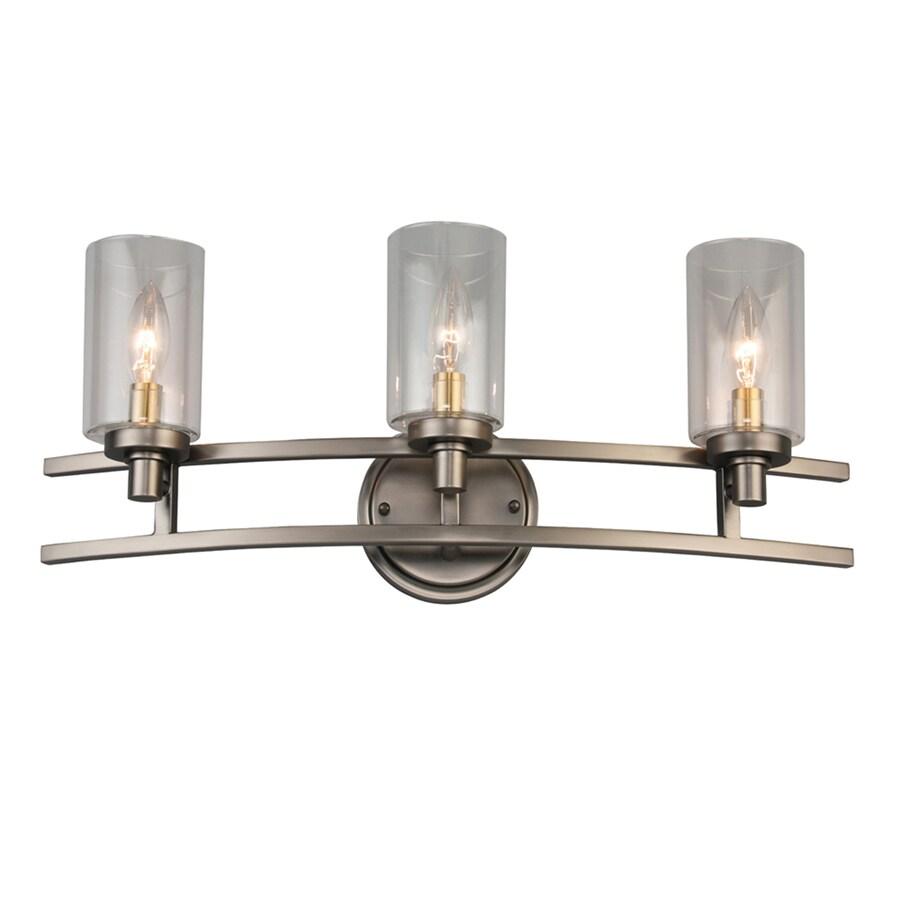 allen roth charlotte 3 light bronze rustic vanity light