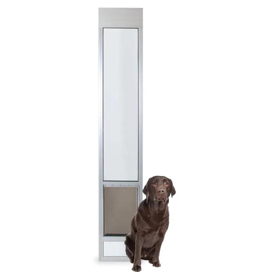 petsafe patio panel large 71 90 lb off white aluminum sliding pet door