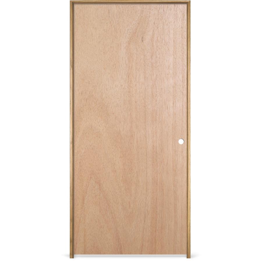Jeld Wen Prehung Hollow Core Flush Lauan Interior Door