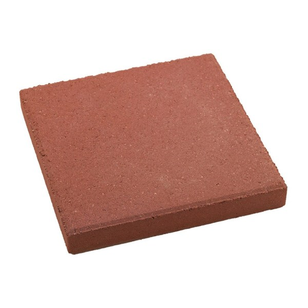Shop Square Red Patio Stone  Common  12 in x 12 in  Actual  11 7 in     Square Red Patio Stone  Common  12 in x 12 in  Actual