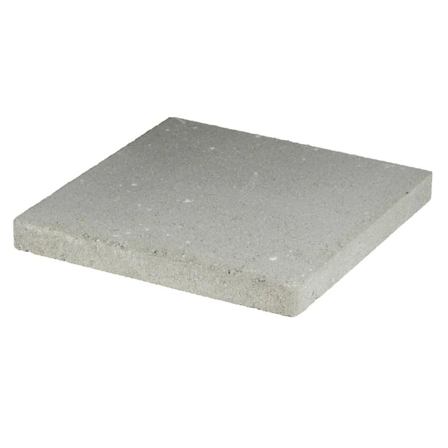 Square Gray Concrete Patio Stone (Common: 16-in x; Actual ... on Square Concrete Patio Ideas id=33685