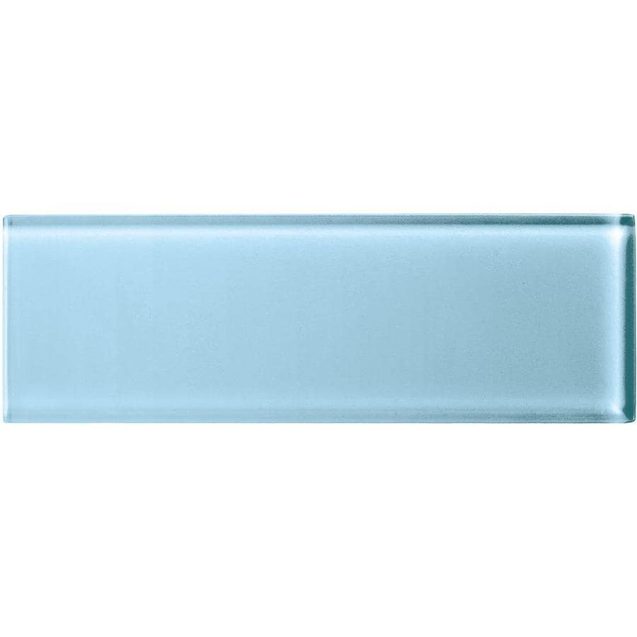 ᗔ American Olean Color Appeal Powder Glass Wall Tile (Common: 4-in ...