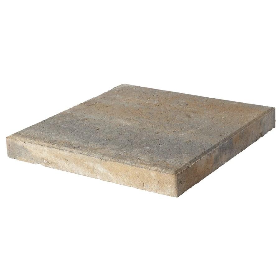 pavestone 16x16 square 16 in l x 16 in w x 2 in h concrete patio stone