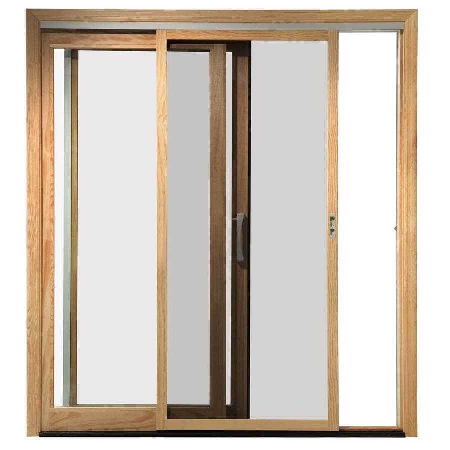 pella pella 450 72 in x 80 in white fiberglass frame sliding screen door