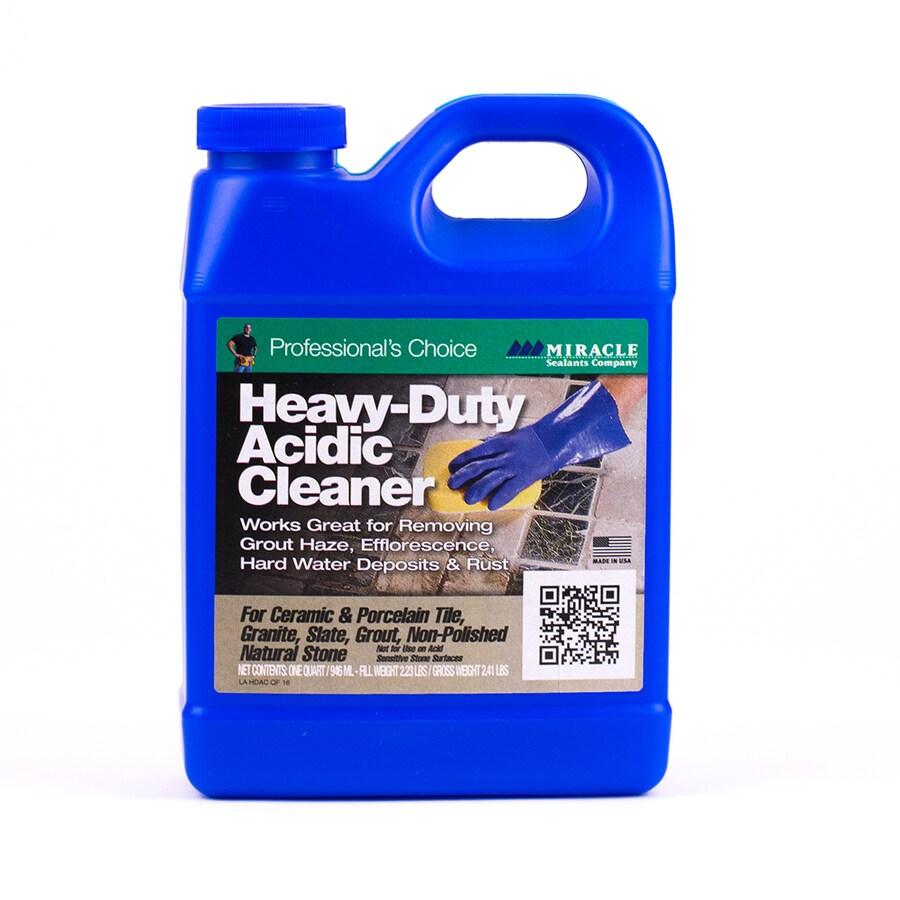 miracle sealants 32 fl oz acid acidic cleaner