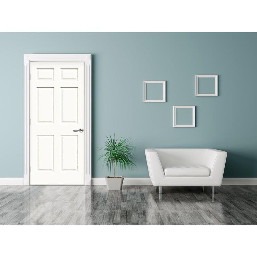 reliabilt colonist textured sc white 6 panel solid Reliabilt Colonist 24 In X 80 In White 6 Panel Primed id=40524