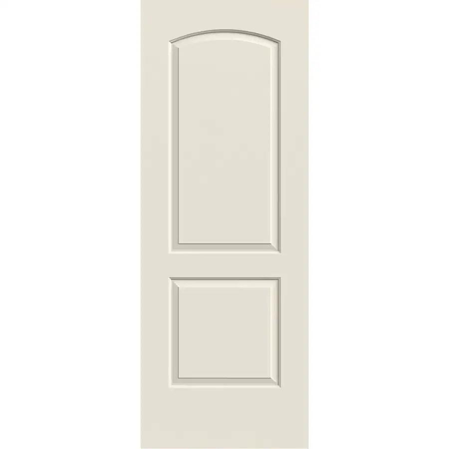 reliabilt continental primed white 2 panel top on Reliabilt Colonist 24 In X 80 In White 6 Panel Primed id=41568