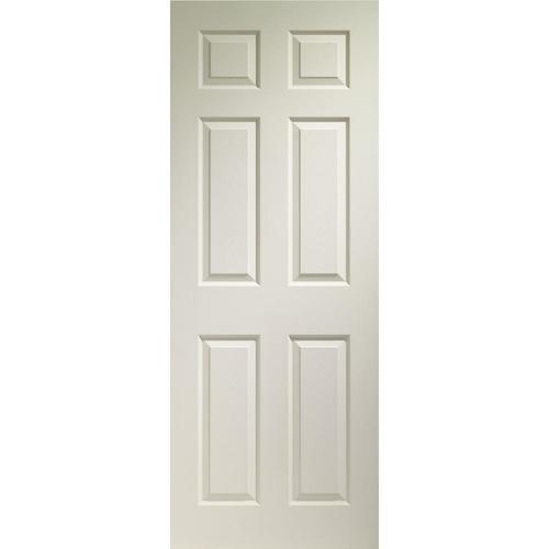 reliabilt colonist white 6 panel solid molded Reliabilt Colonist 24 In X 80 In White 6 Panel Primed id=93633
