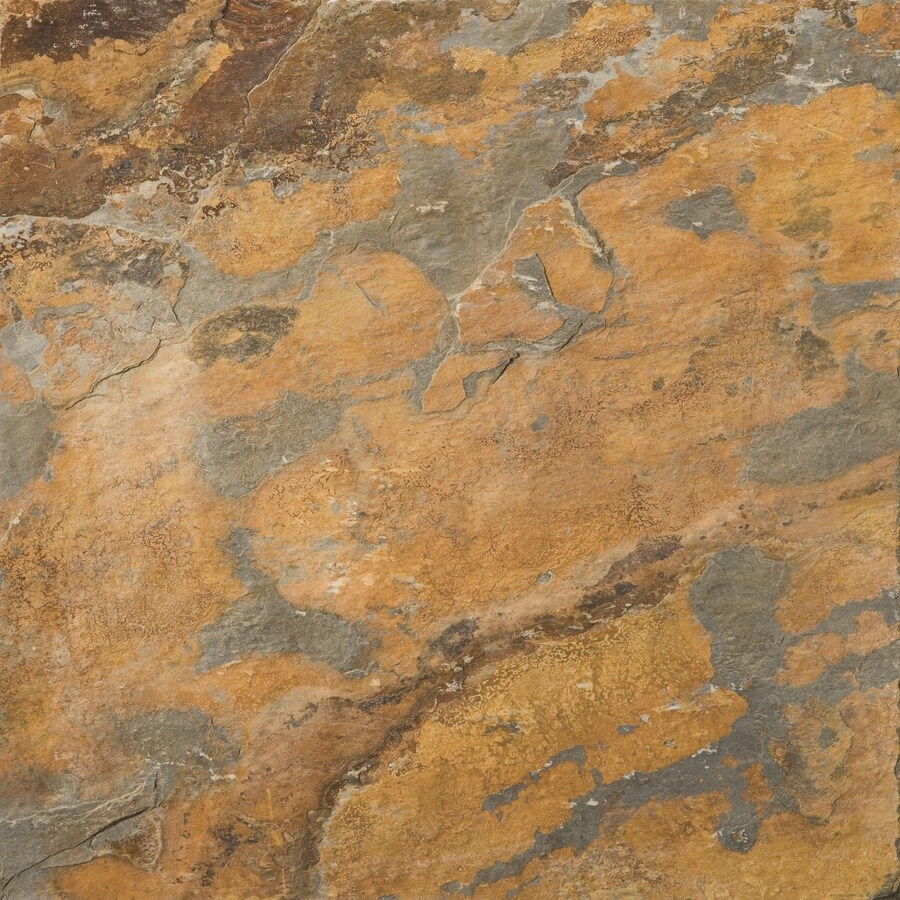 emser 10 pack rustic gold slate floor