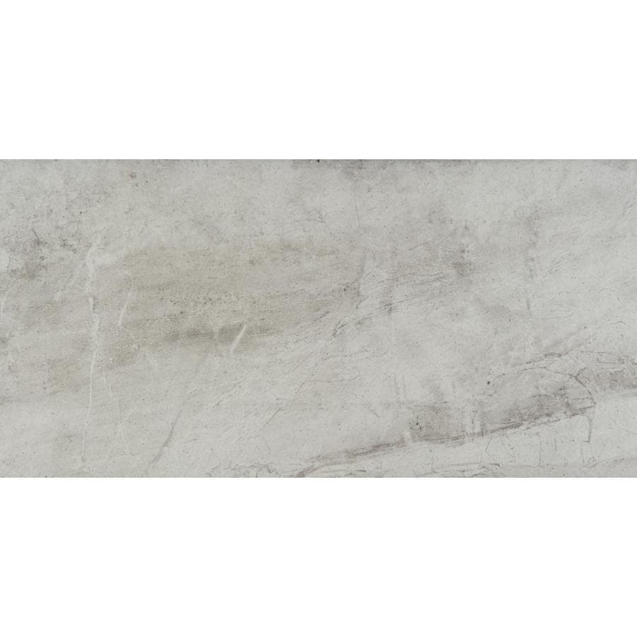 emser eurasia 6 pack bianco 12 in x 24 in glazed porcelain stone look floor and wall tile