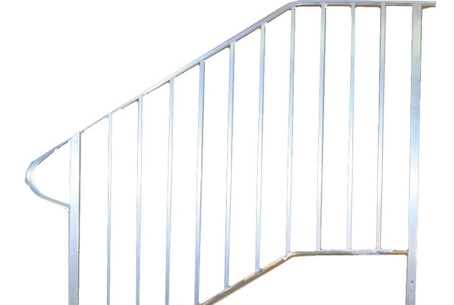 Handrail Exterior Handrails At Lowes Com   Outside Handrails For Stairs   Porch   Wrought Iron   Stainless Steel   Backyard   Wooden
