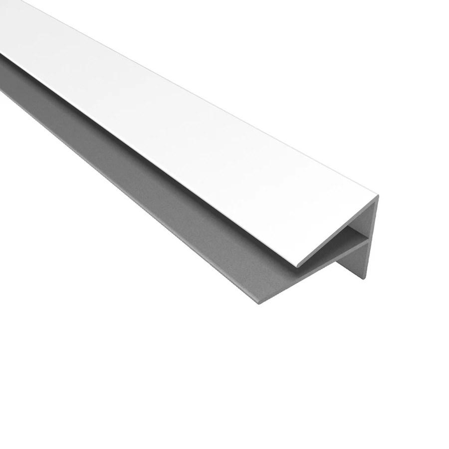white pvc tile edge trim