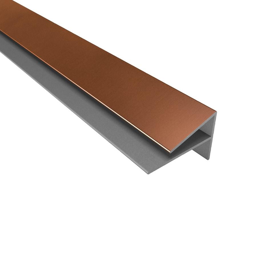 oil rubbed bronze pvc tile edge trim