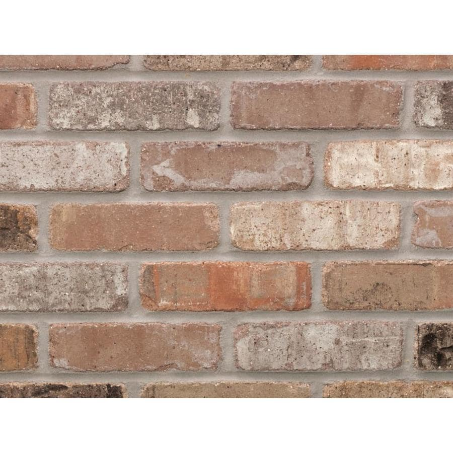 general shale providence series 50 pack carbon 1 2 in x 8 in tumbled ceramic brick look wall tile lowes com