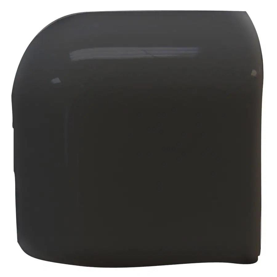 black ceramic mud cap corner tile