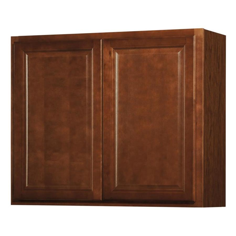 Best Kitchen Gallery: Shop Kitchen Classics Cheyenne 36 In W X 30 In H X 12 In D Saddle of Lowes Kitchen Wall Cabinets on rachelxblog.com