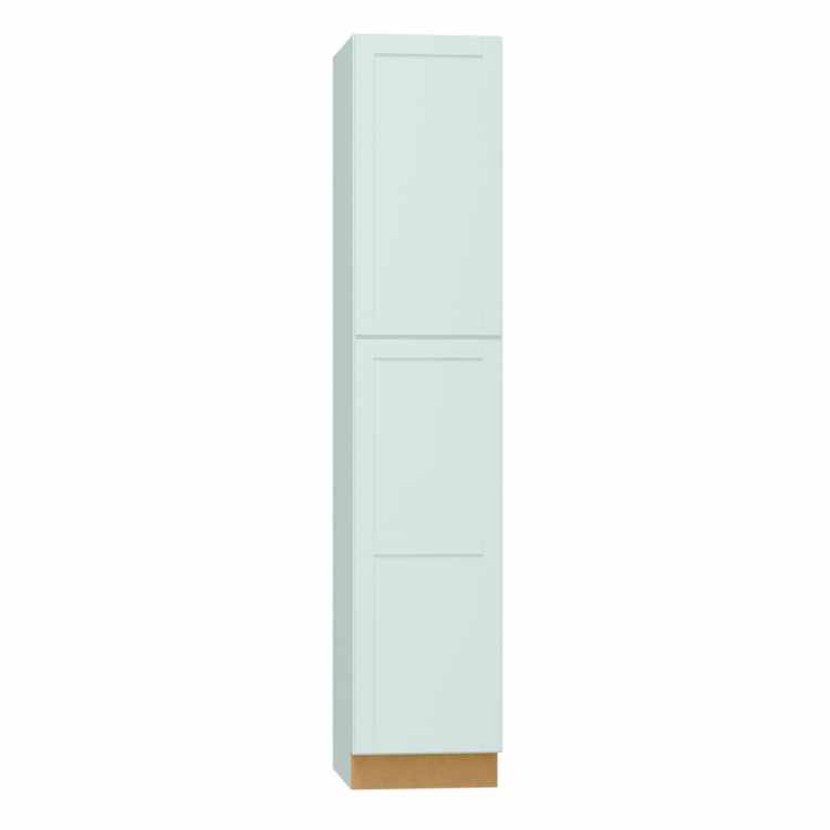 Diamond Now Arcadia 18 In W X 84 In H X 23 75 In D Truecolor White Door Pantry Stock Cabinet In The Stock Kitchen Cabinets Department At Lowes Com