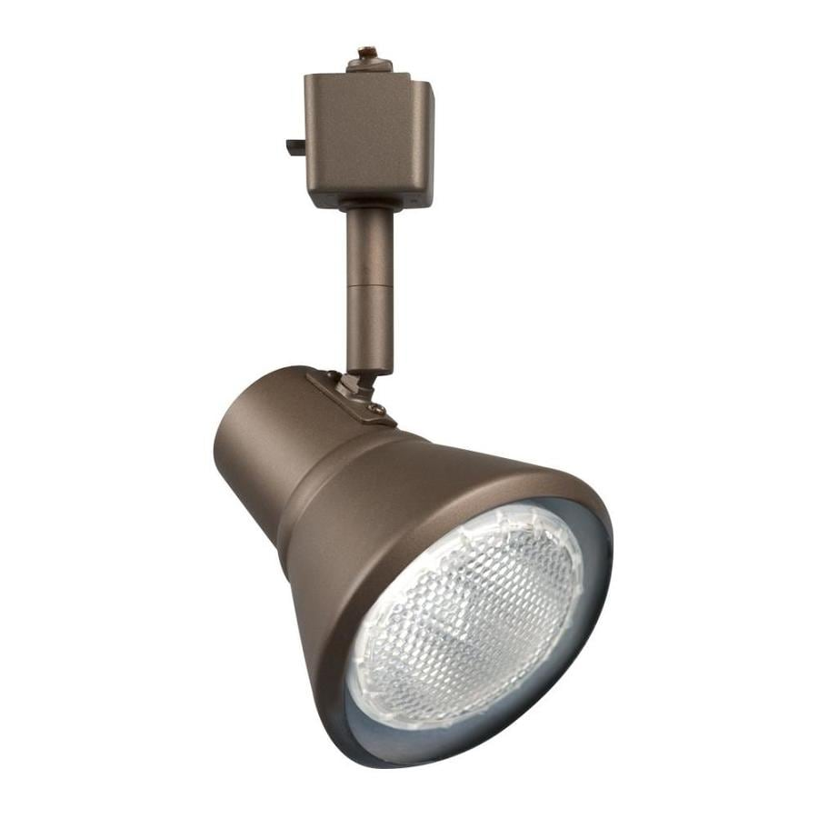 bronze plug in track lighting heads at