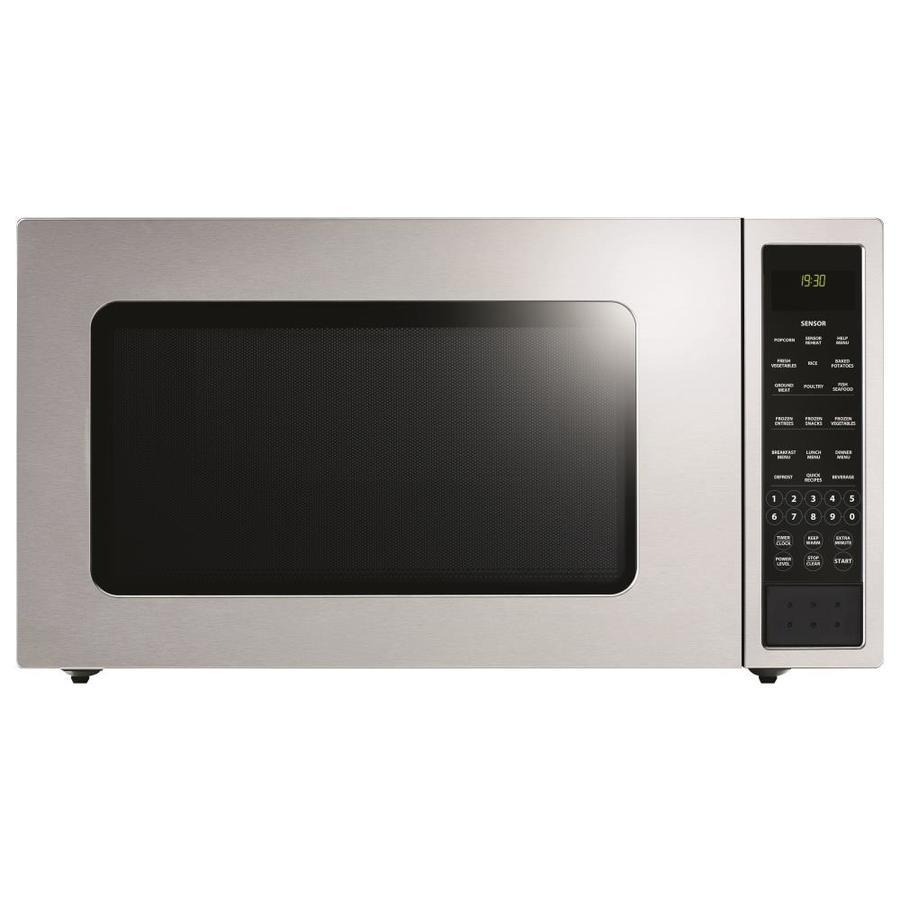fisher paykel 2 cu ft 1 200 watt countertop microwave stainless steel