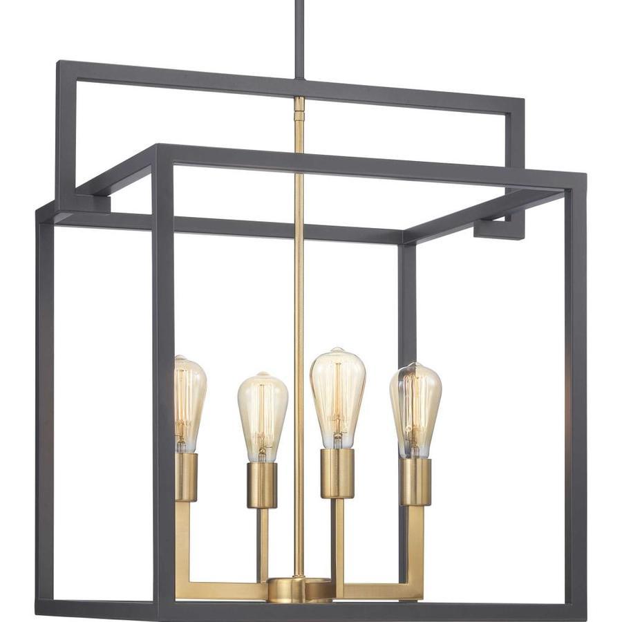 progress lighting blakely graphite modern contemporary lantern pendant light