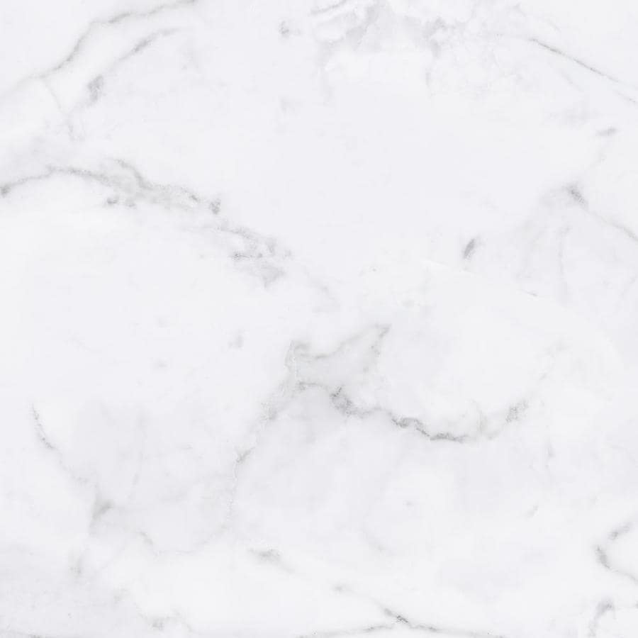 viena bianco calacata white 12 in x 12 in glazed ceramic marble look floor and wall tile lowes com