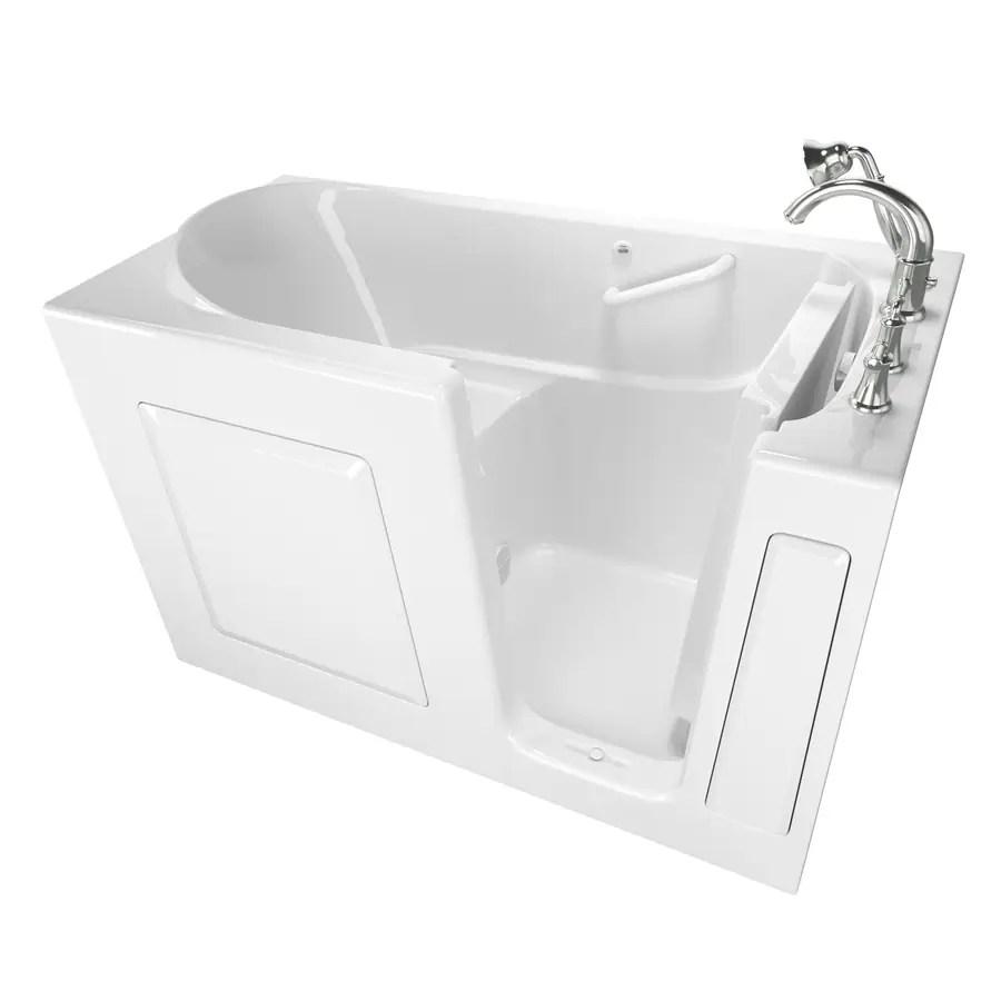 American Standard 59 In White GelcoatFiberglass