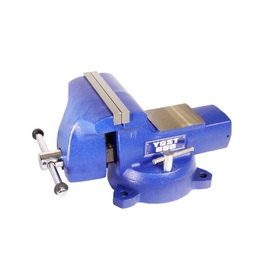 Yost 8 In Cast Iron Vise At Lowes Com