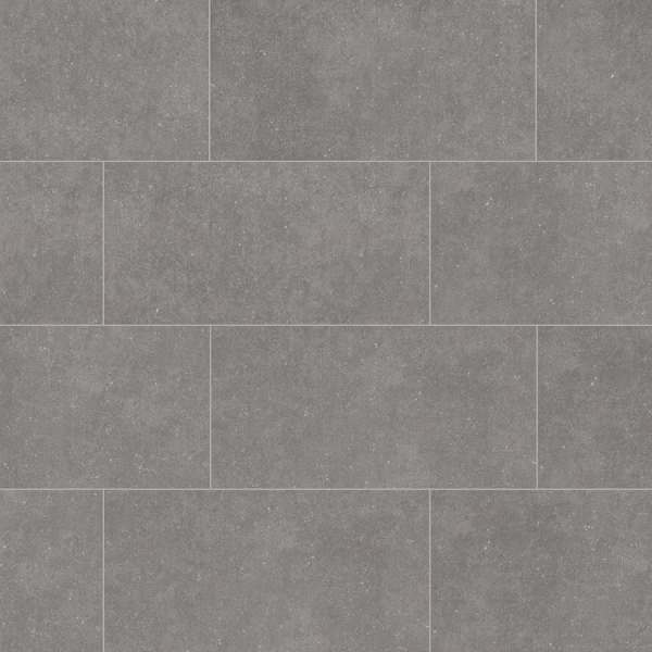 Shop Tile at Lowes com Style Selections Mitte Gray Porcelain Floor and Wall Tile  Common  12 in x