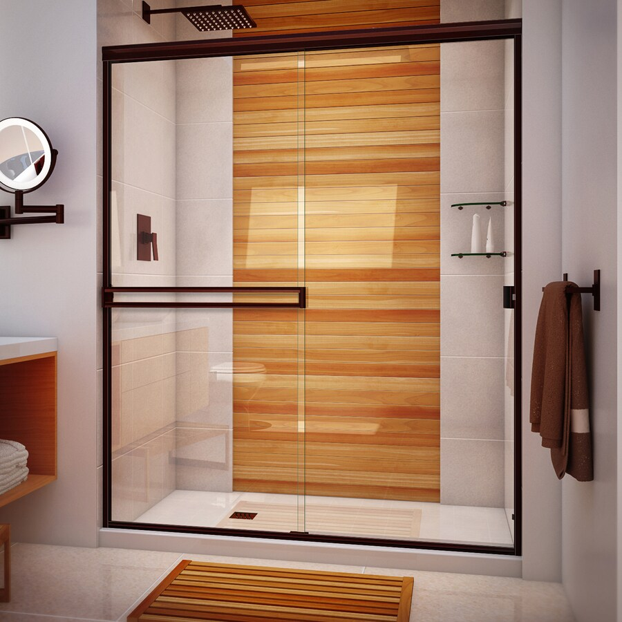 Arizona Shower Door Traditional 56 In To 60 In W Semi