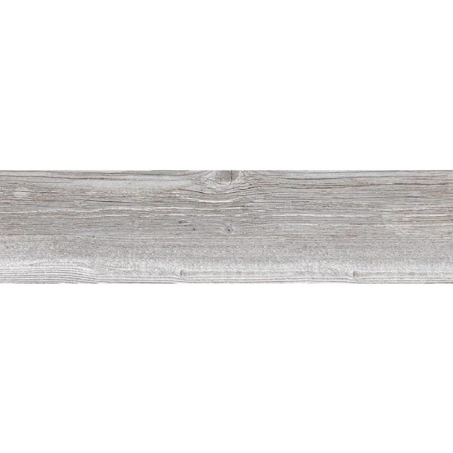 style selections woods vintage gray 6 in x 6 in porcelain wood look tile sample