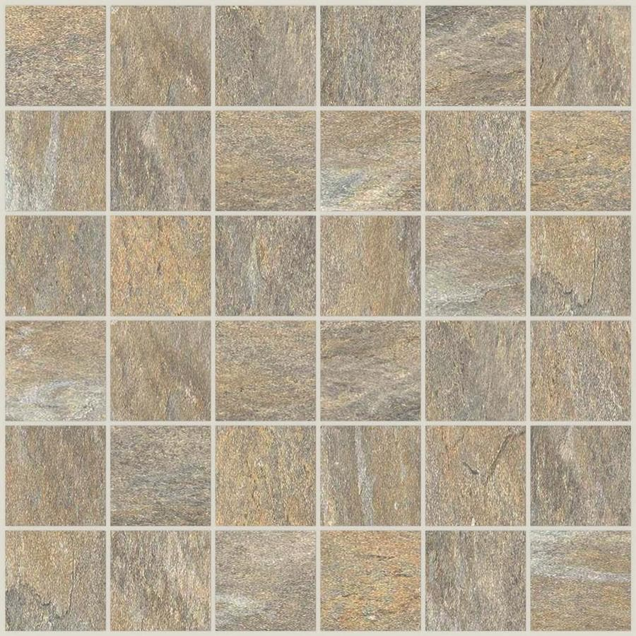 della torre riverdale sand 12 in x 12 in glazed porcelain uniform squares stone look floor and wall tile