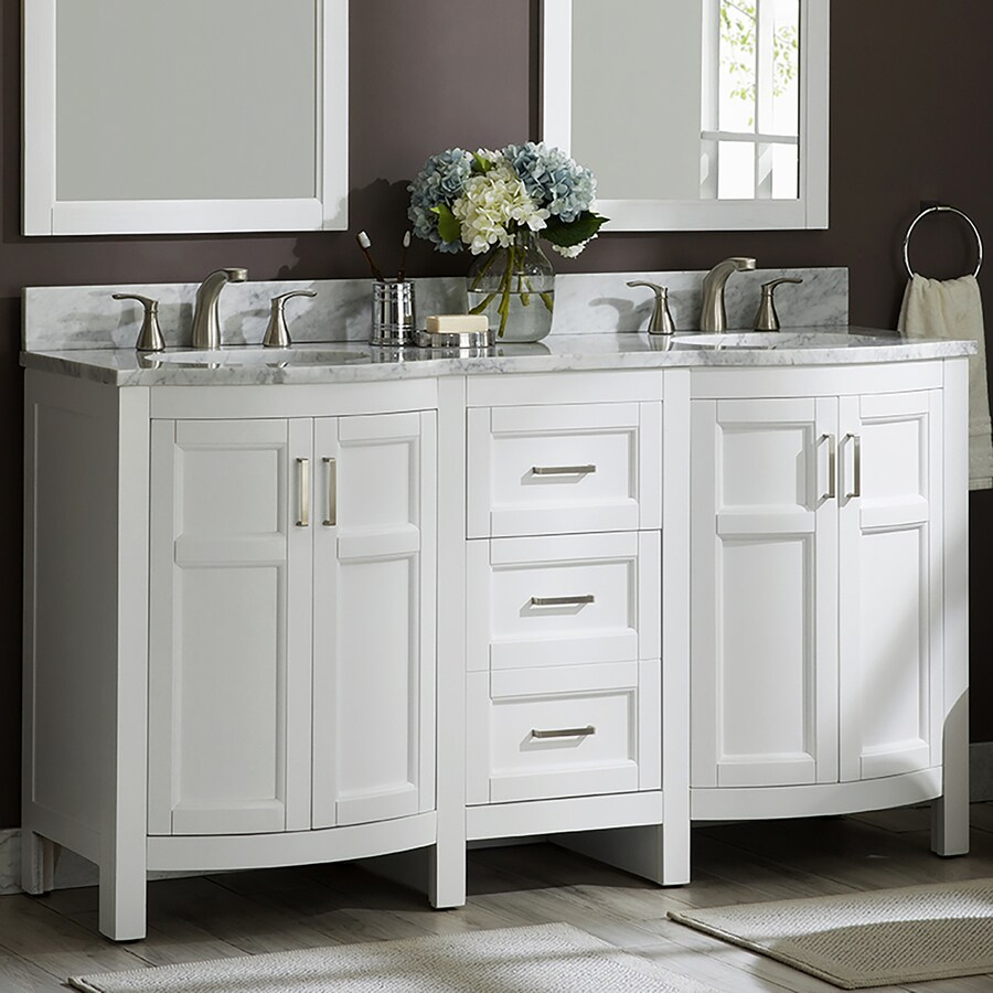 bathroom double sink vanities lowes
