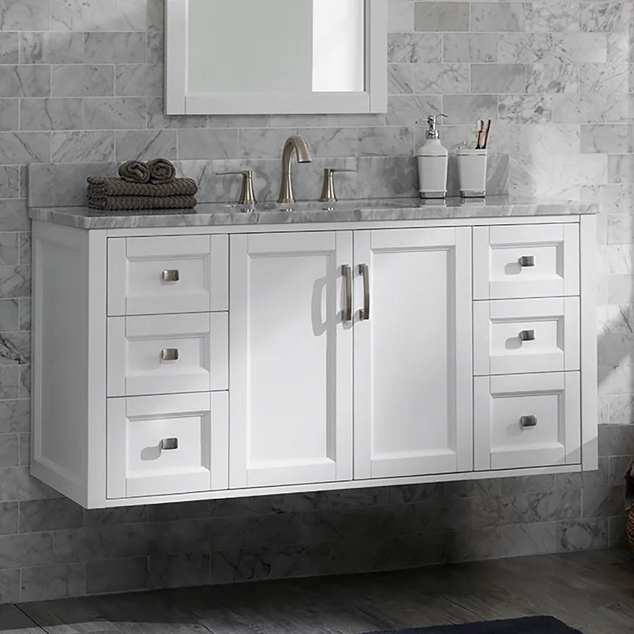 48 in bathroom vanities at lowes com