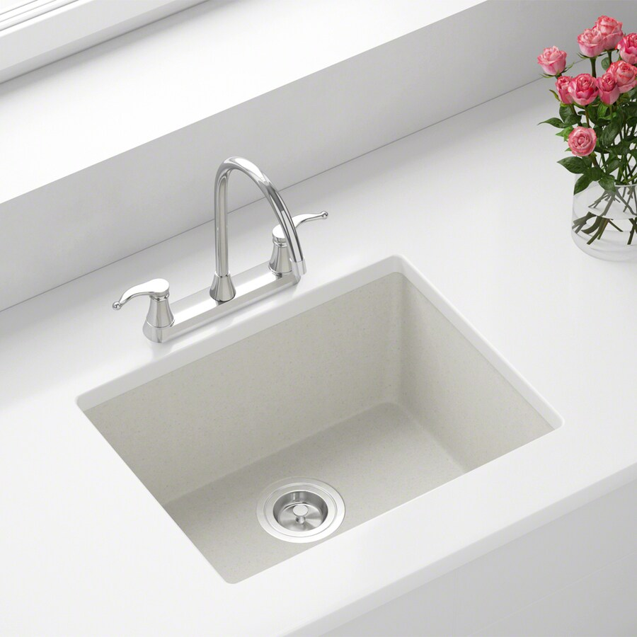 mr direct dual mount 21 63 in x 16 88 in white single bowl kitchen sink