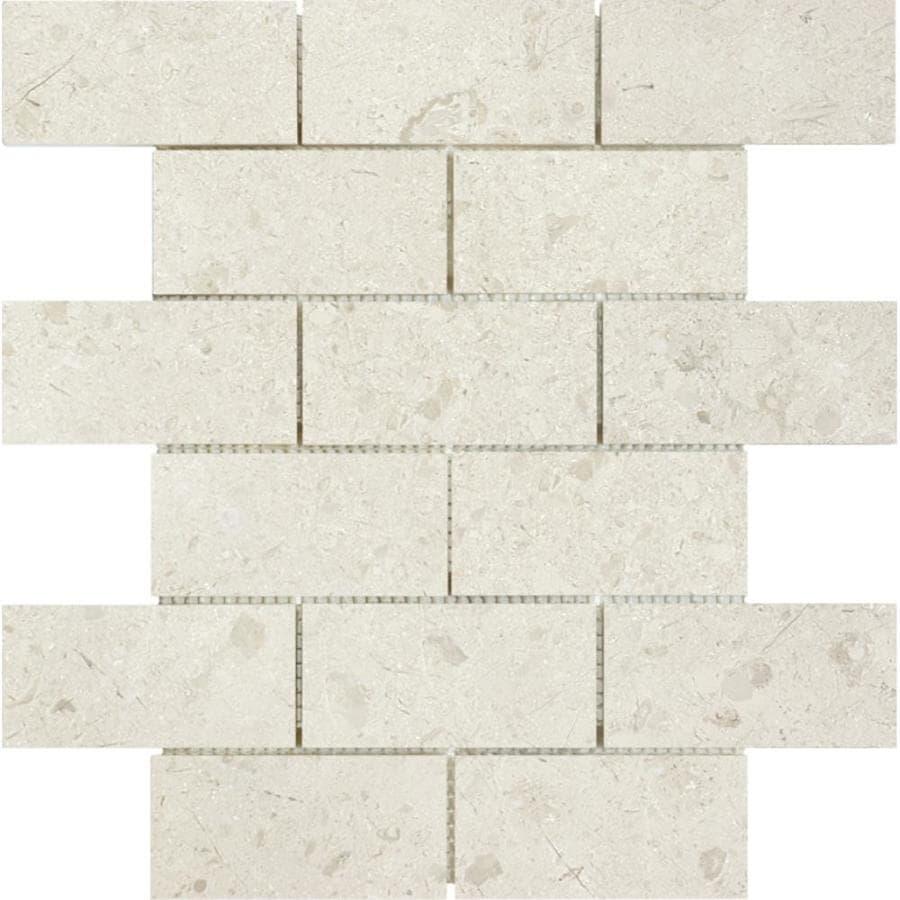 brick mosaic tile sample