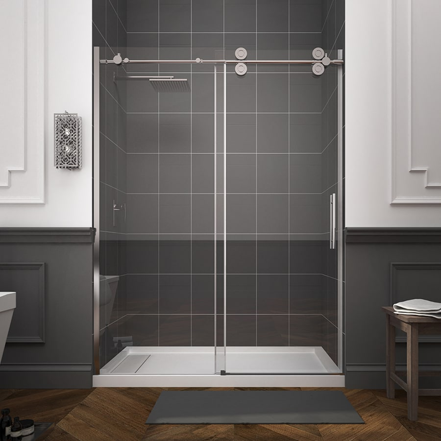Shop OVE Decors Sydney 56 In To 59 In W Frameless Polished