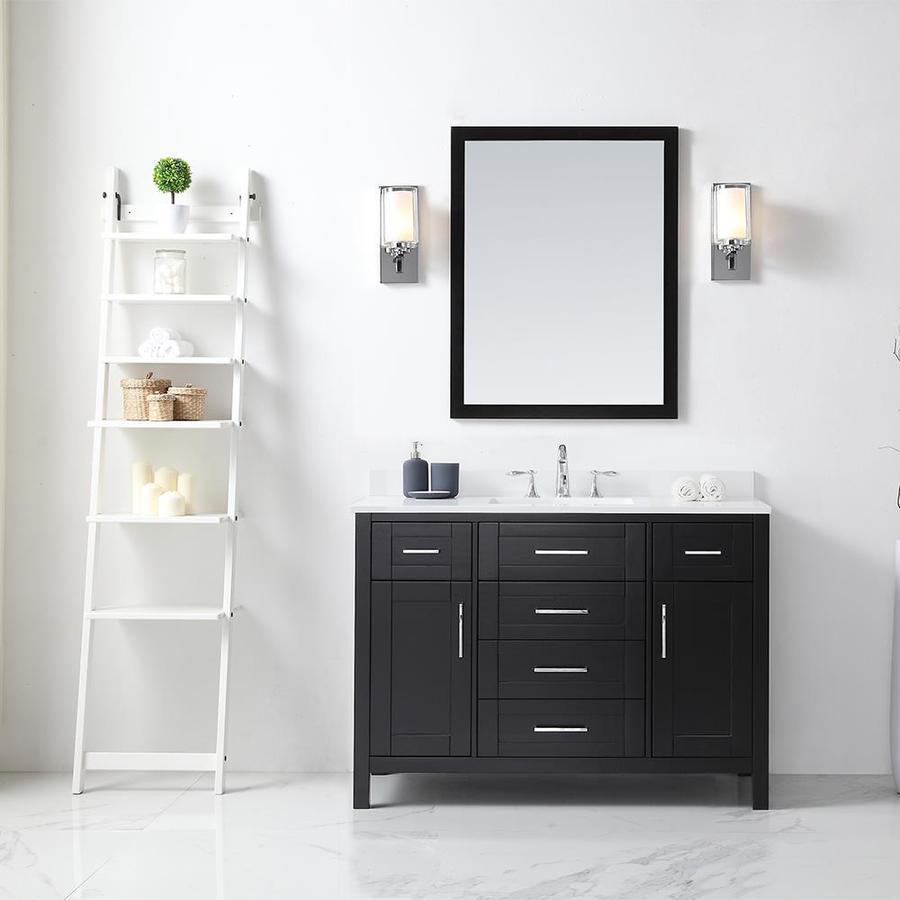 OVE Decors Tahoe 48 In Espresso Single Sink Bathroom