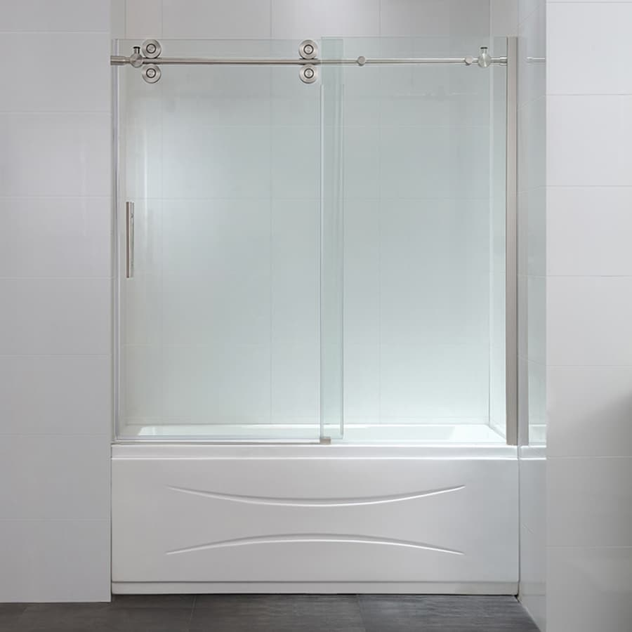 Shop OVE Decors Sydney 595 In W X 59 In H Bathtub Door At