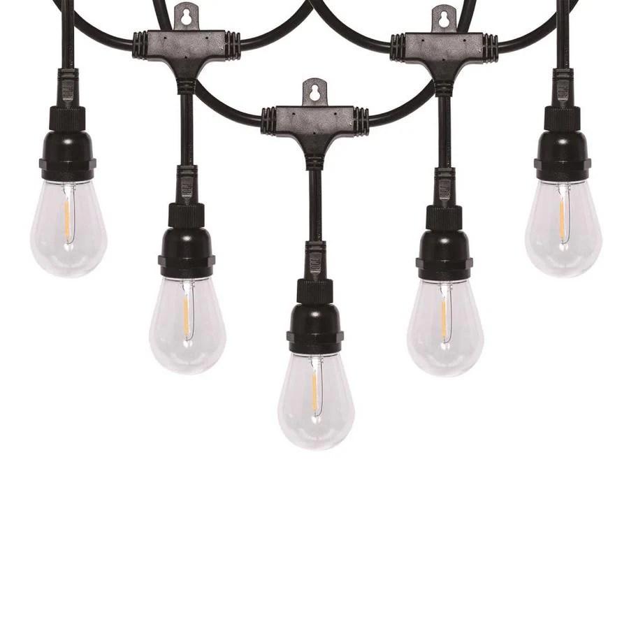honeywell 24 ft 8 light plug in white