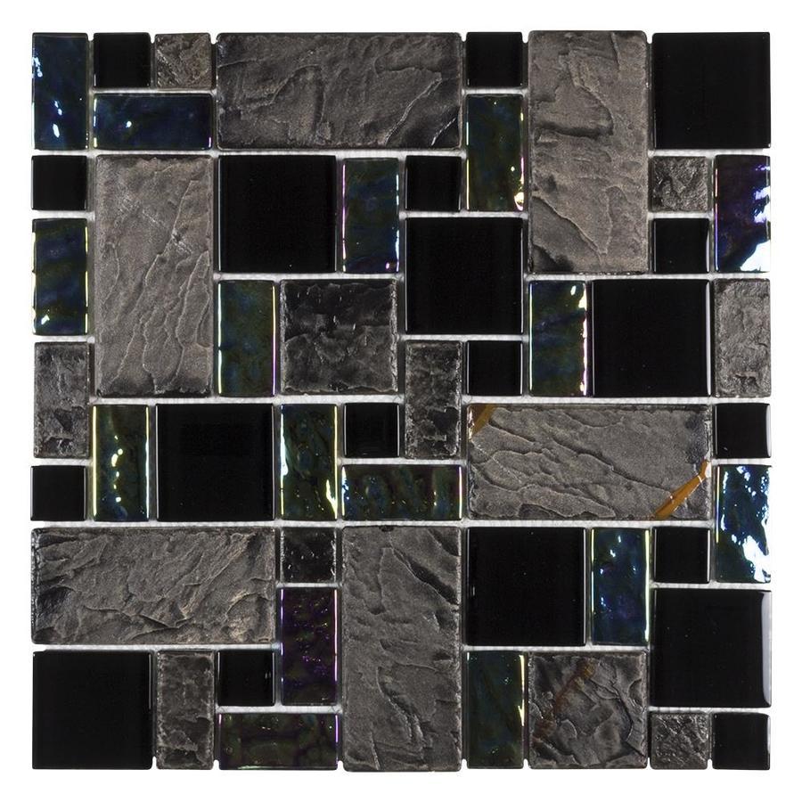 elida ceramica onyx slate cubes 12 in x
