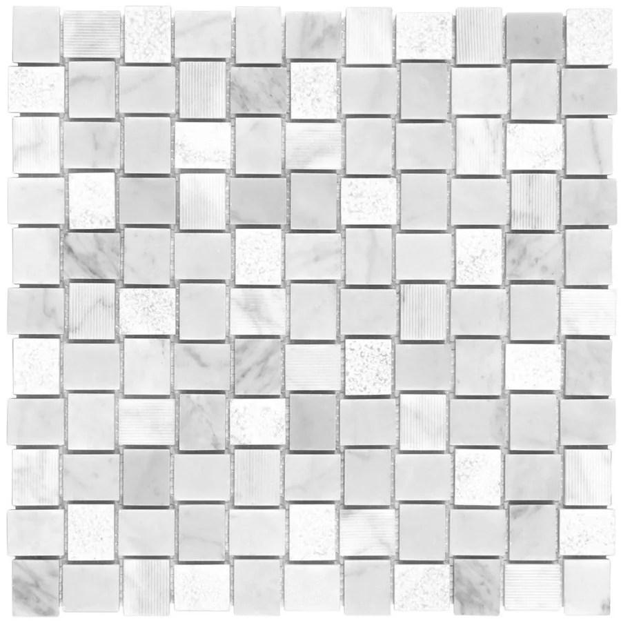 elida ceramica bianca stone 12 in x 12