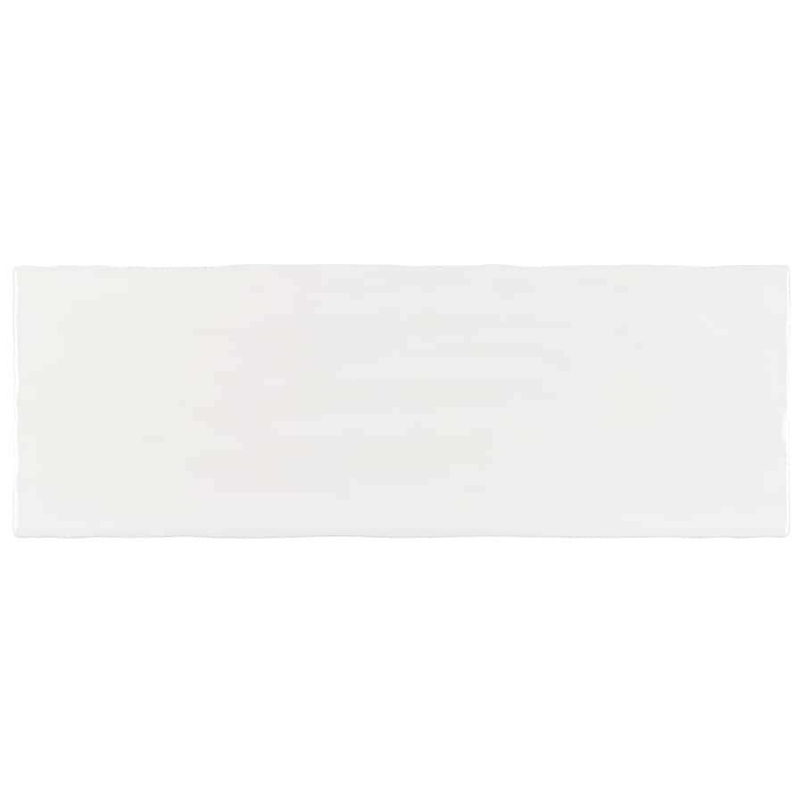 boutique ceramic boutique crafted white 5x14 5 in x 14 in glazed ceramic subway wall tile
