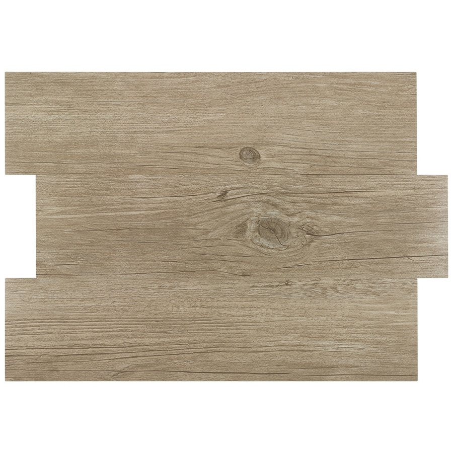 peel stick mosaics peel and stick oakview beige 12 in x 16 in glossy pvc wood look peel and stick wall tile