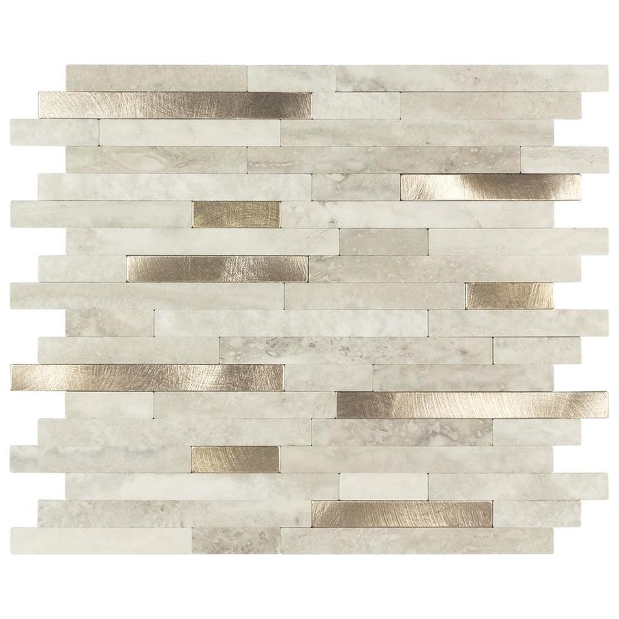 peel and stick tile tile at lowes com